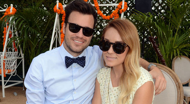 ¡Lauren Conrad y William Tell ya están casados!