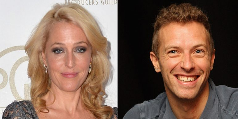 ¿Chris Martin cambia a Gwyneth Paltrow por Gillian Anderson?