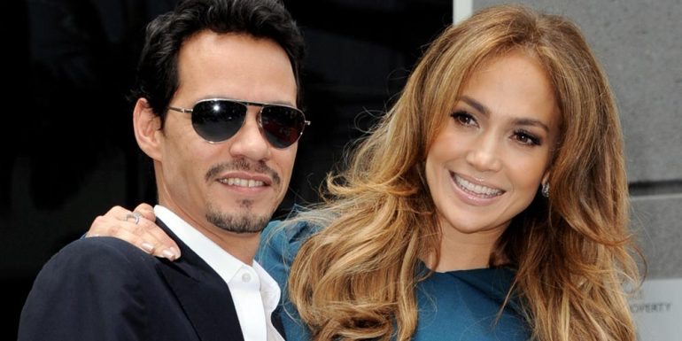 Jennifer Lopez rechaza beso de Marc Anthony durante concierto +VIDEO
