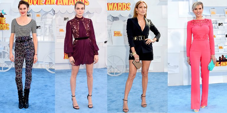 12 Celebs que impactaron en los 'MTV Movie Awards' 2015