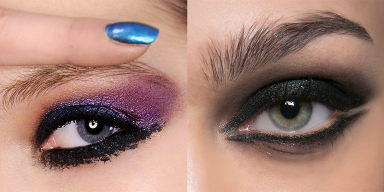 7 Estilos de sombras para una 'party night'
