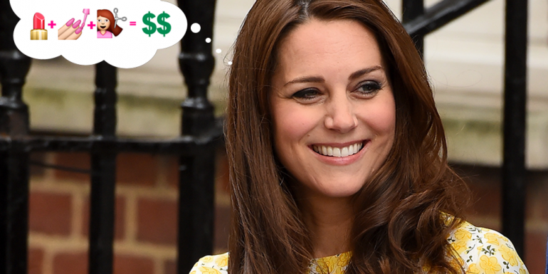 A Kate Middleton le costó $50