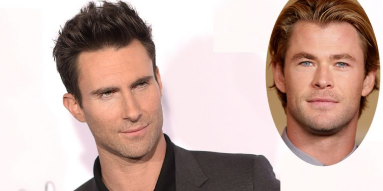 Adam Levine piensa que Chris Hemsworth es demasiado HOT