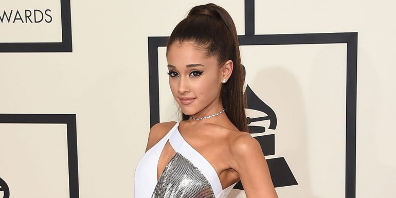 Ariana Grande sufrió un accidente en pleno show