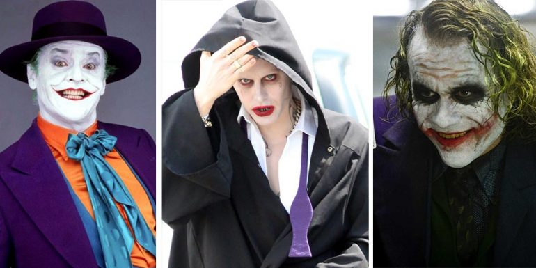 Así es cómo Jared Leto rinde homenaje  Jack Nicholson y Heath Ledger por su papel de 'The Joker'