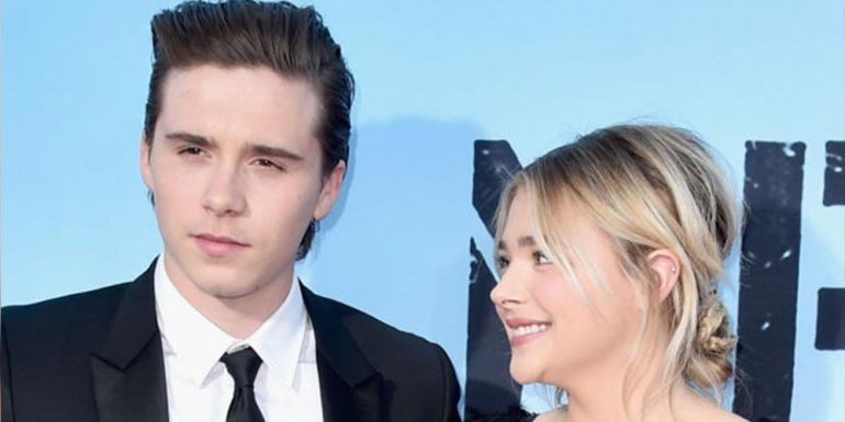 Así fue el debut de Chloë Grace Moretz y Brooklyn Beckham como 'hot couple'