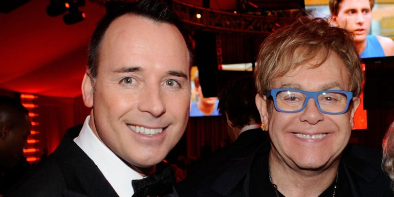 Así fue la boda de Elton John y David Furnish