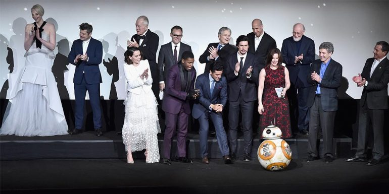 Así lucieron las celebs en la premiere de Star Wars: The Force Awakens