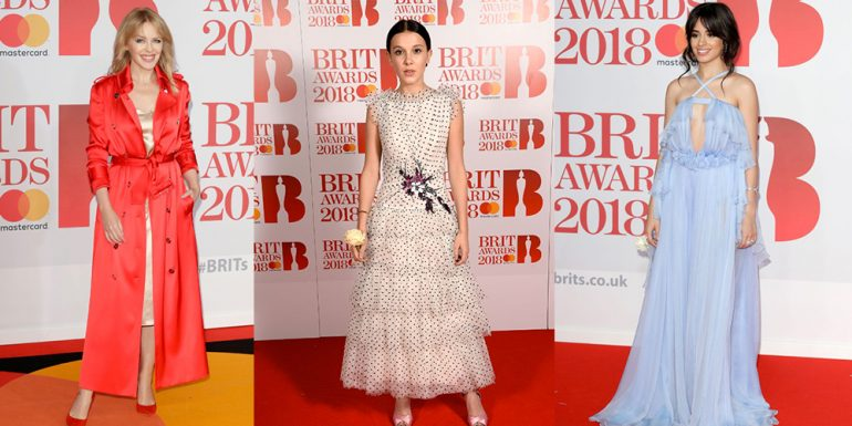 #BritAwards: Los looks que robaron miradas en la red carpet