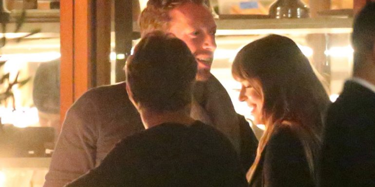FOTOS: Dakota Johnson y Chris Martin están felices y enamorados