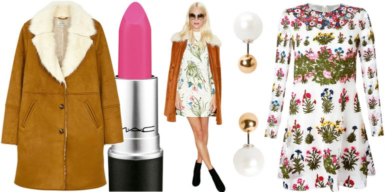 Get The Look: Luce un outfit floral como Poppy Delevingne