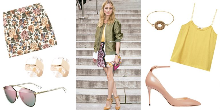 Get the look: Dale un toque girly a tu outfit como Olivia Palermo