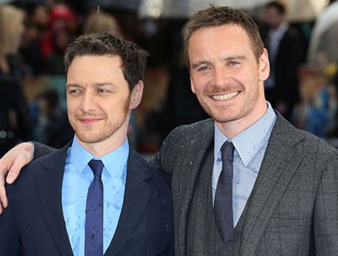 James McAvoy vs Michael Fassbender