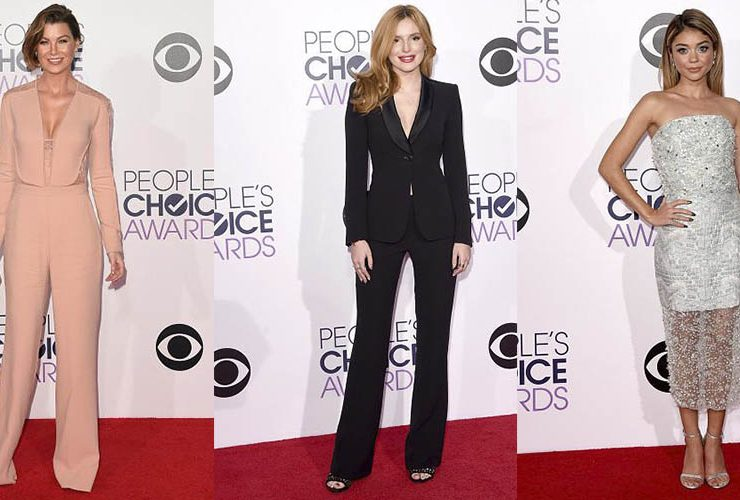 Las mejor vestidas de los People's Choice Awards 2015