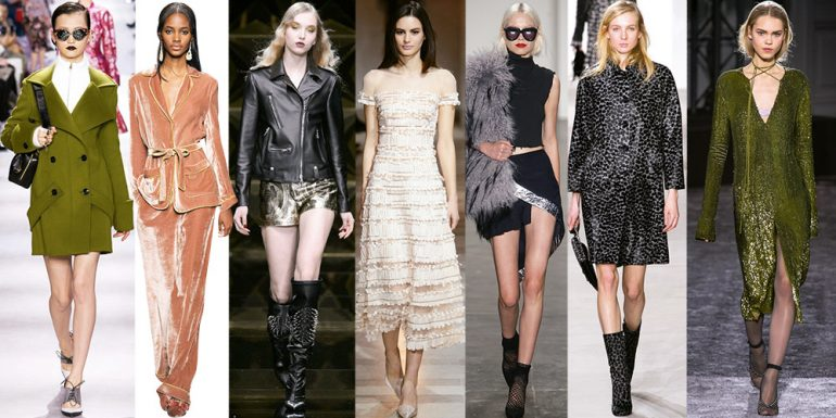 Las tendencias que dominan FW 2016