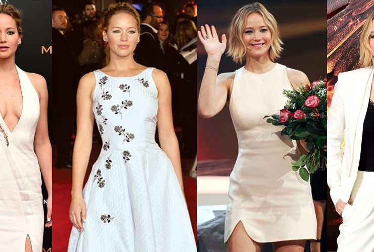 Los 10 looks de Jennifer Lawrence en las 'red carpets' de 'The Hunger Games: Mockingjay'