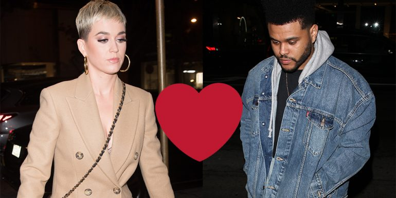 Love is in the air? Katy Perry y The Weeknd son captados durante una cena romántica en Hollywood
