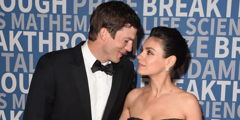 ? #LoveIsInTheAir: ¡Ashton Kutcher y Mila Kunis por fin debutan como pareja en una red carpet! ?