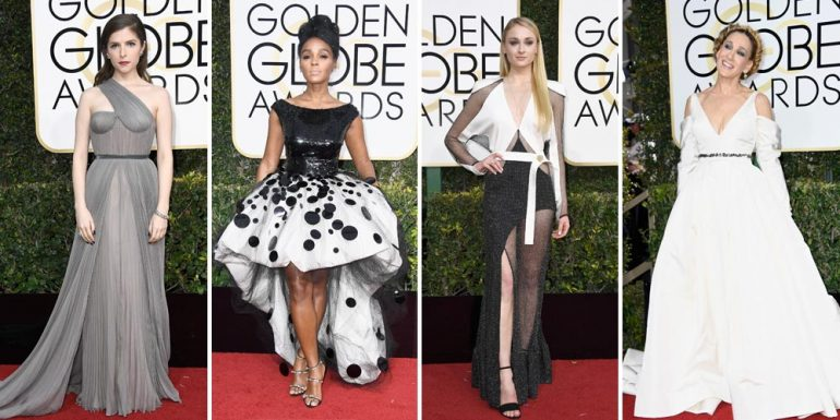 #GoldenGlobes2017: Los looks más criticados de la red carpet