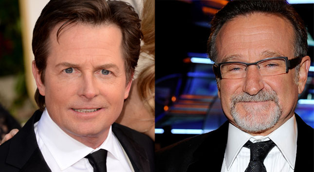 Michael J. Fox expresa su sentir al enterarse de que Robin Williams tenía Parkinson