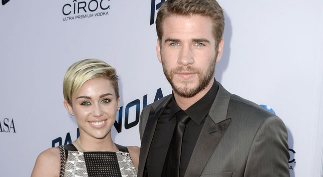 Miley se disculpa con Liam Hemsworth
