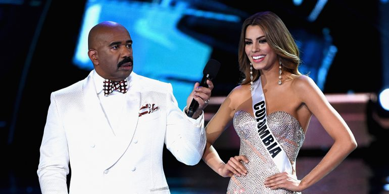 Miss Colombia y Steve Harvey se vuelven a ver