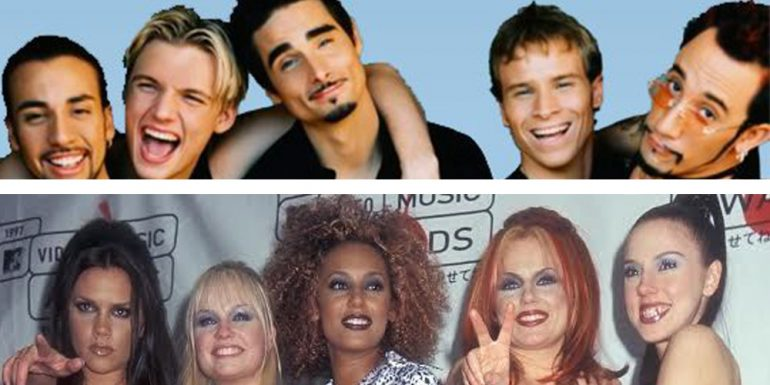 OMG! Backstreet Boys y Spice Girls juntos en el 2016