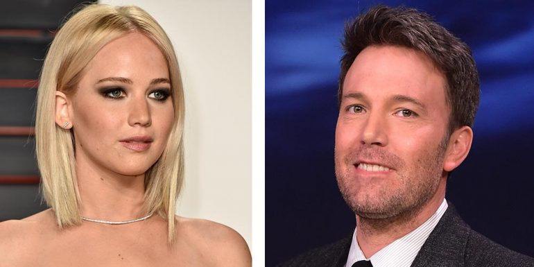 OMG! Ben Affleck está interesado en Jennifer Lawrence