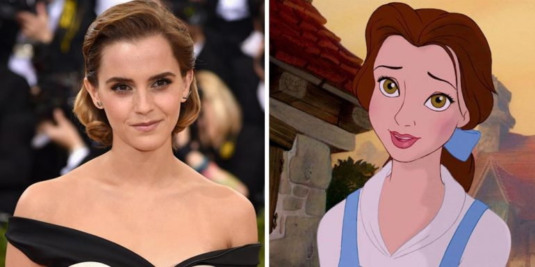 Revelan primera imagen del vestuario de Emma Watson en 'The Beauty and the Beast'