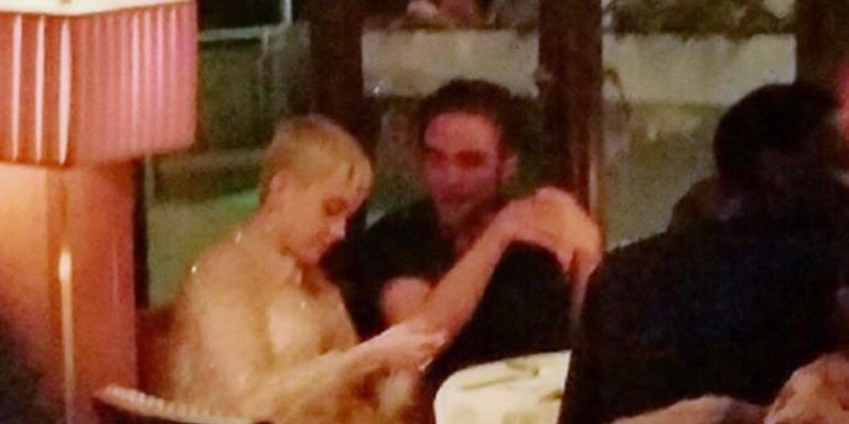 Robert Pattinson y Katy Perry son captados durante una cena romántica +FOTOS