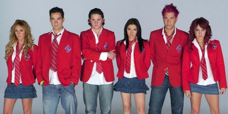 #TBT: Este es el before & after de los integrantes de RBD
