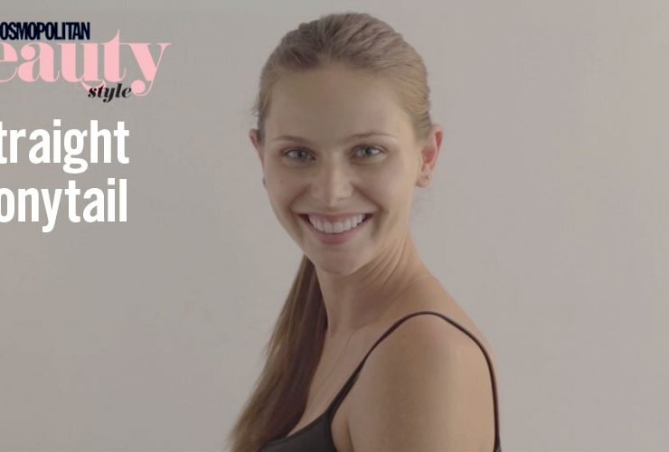 #Tutorial: Straight Ponytail