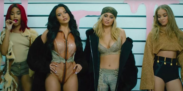 VIDEO: Kylie Jenner lanza su primer video musical y se ve de impacto